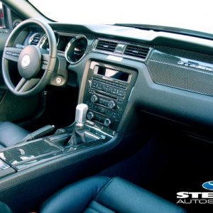 2010 Steeda Q350 Full Dash/Console